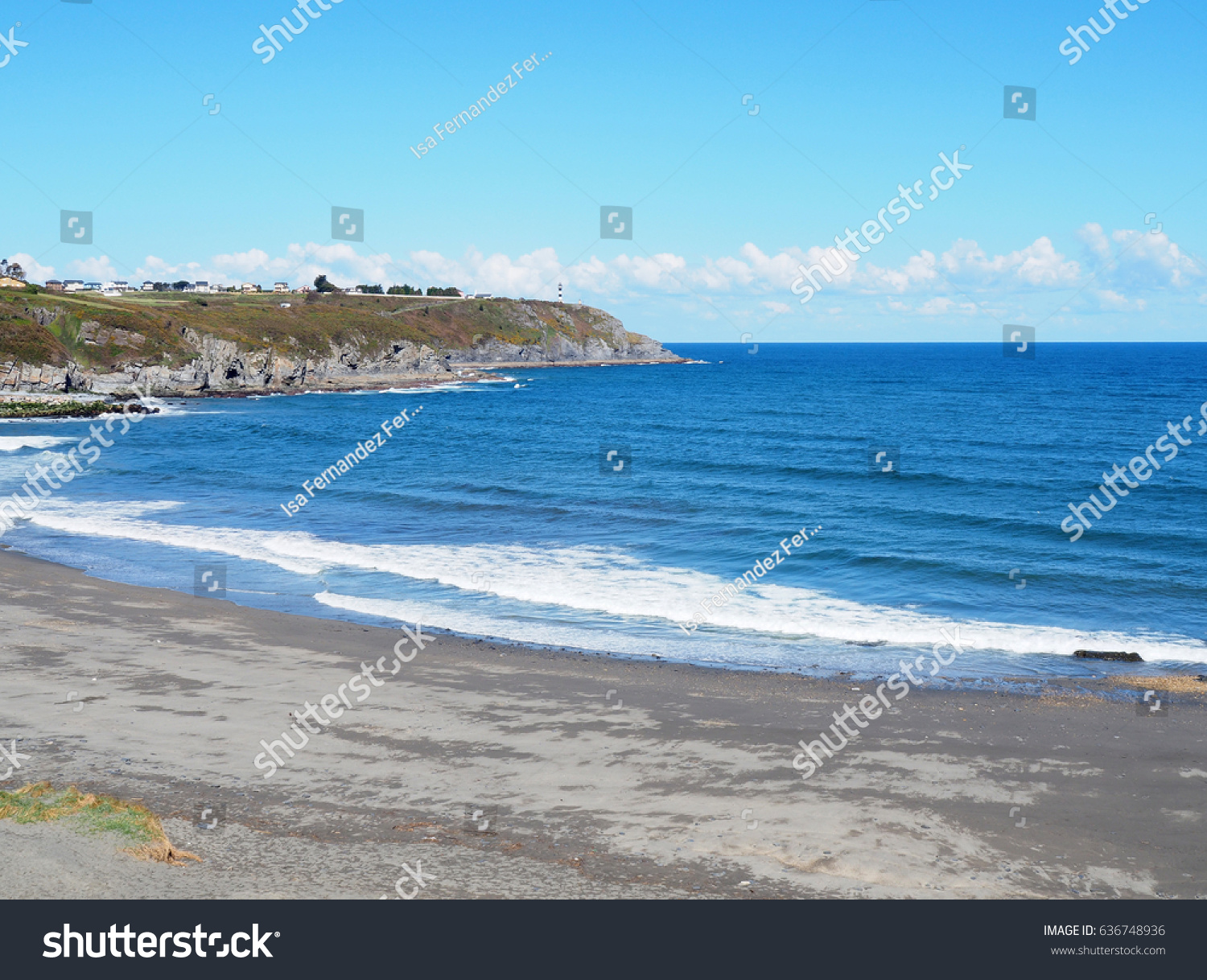 Fotos De Navia landscape beach navia asturias spain stock photo (edit now