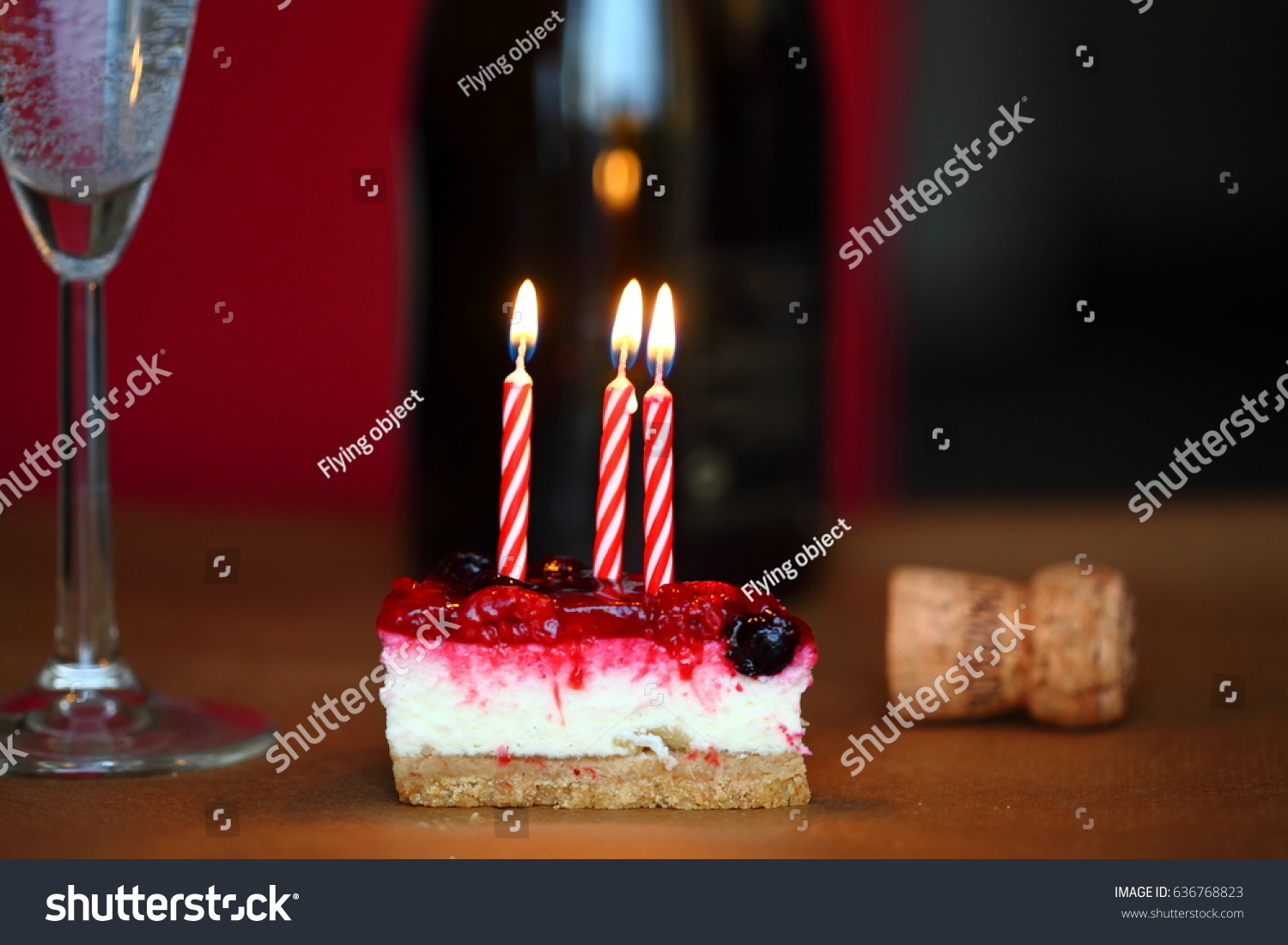 Super Birthday Cake Candles Birthday Cheesecake Glass Stock Photo Edit Funny Birthday Cards Online Aboleapandamsfinfo