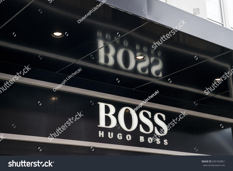 f0ea69f49 Roermond Netherlands 07052017 Logo Shop Hugo Stock Photo (Edit Now ...