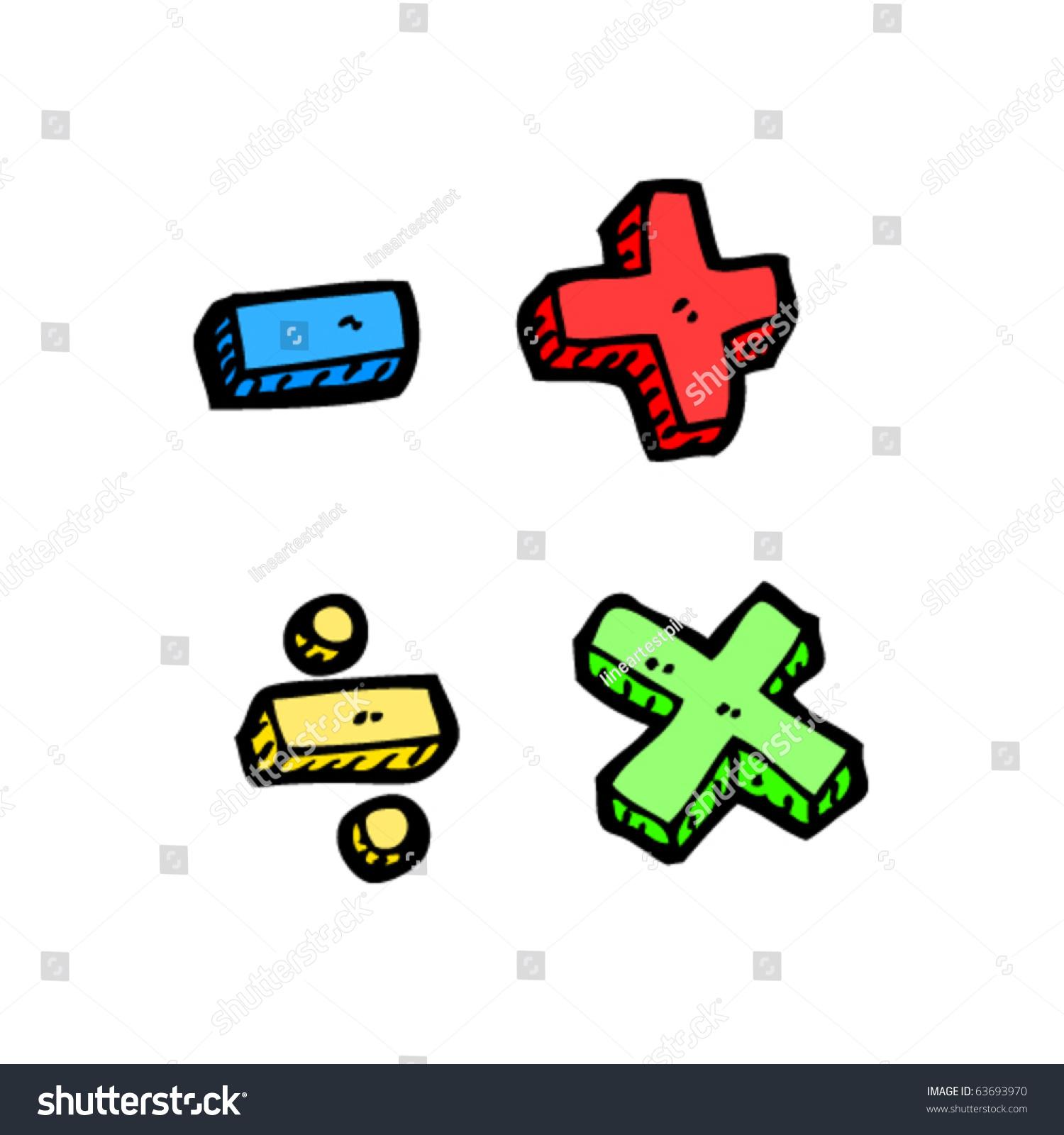 Maths symbols cartoon stock vector 63693970 shutterstock maths symbols cartoon buycottarizona