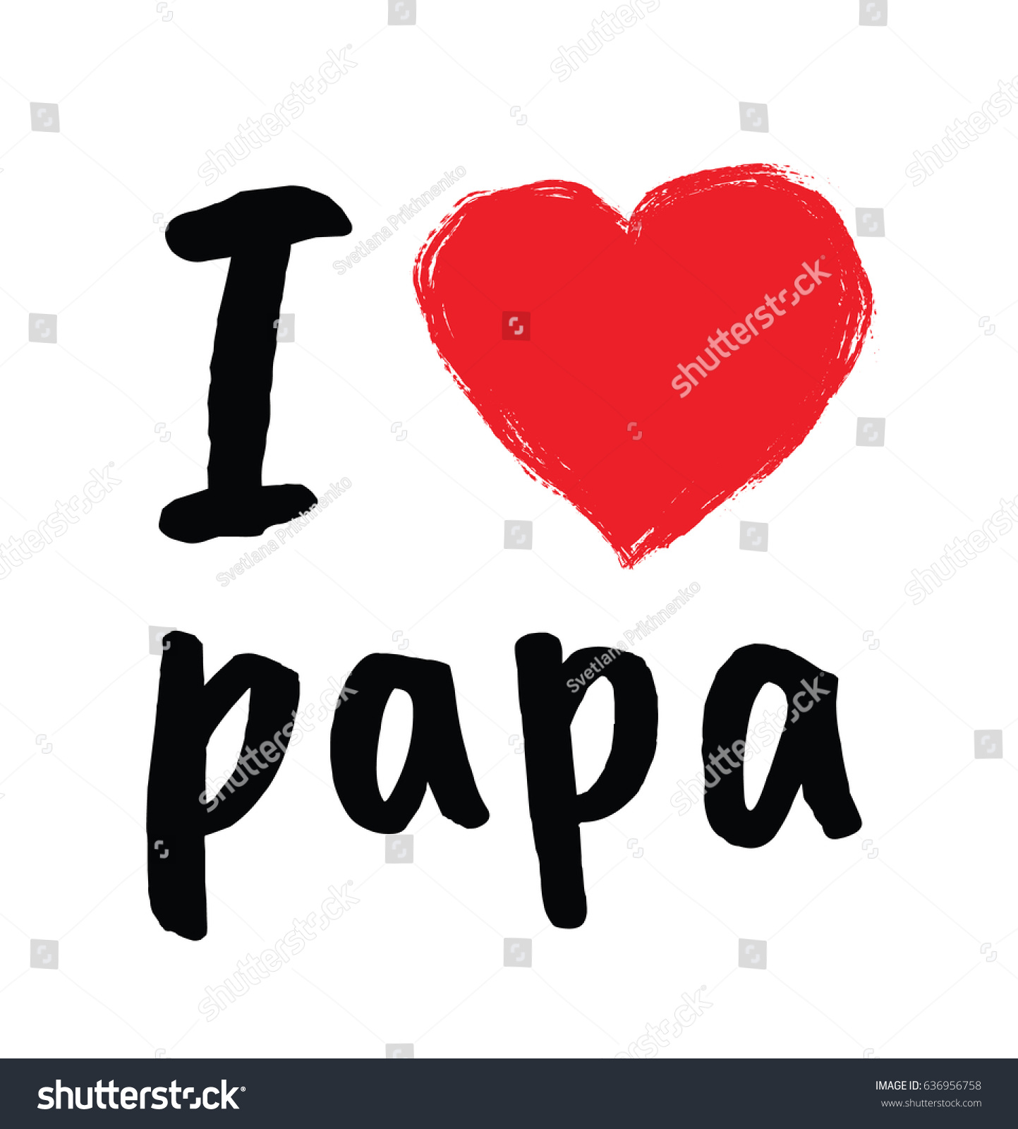 Royalty Free Stock Illustration Of Love Papa Greetings Fathers Day