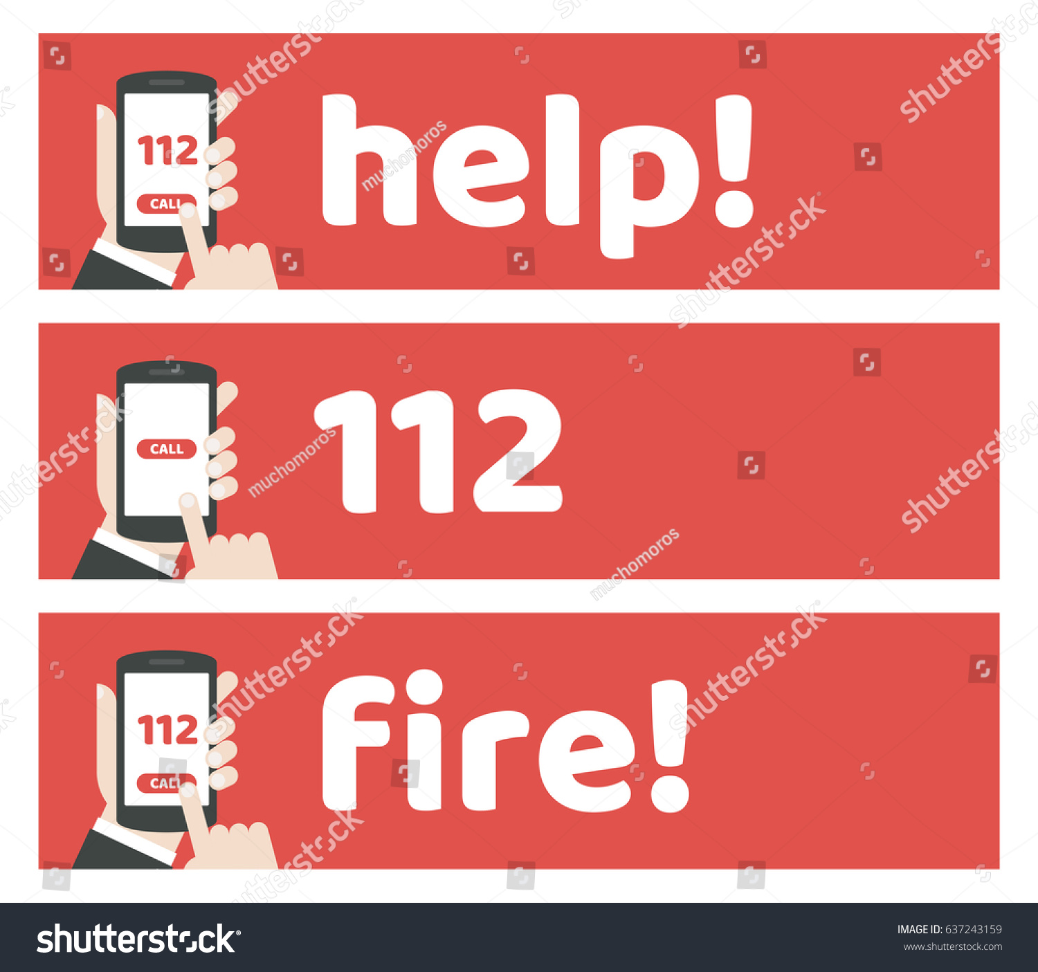 emergency number template