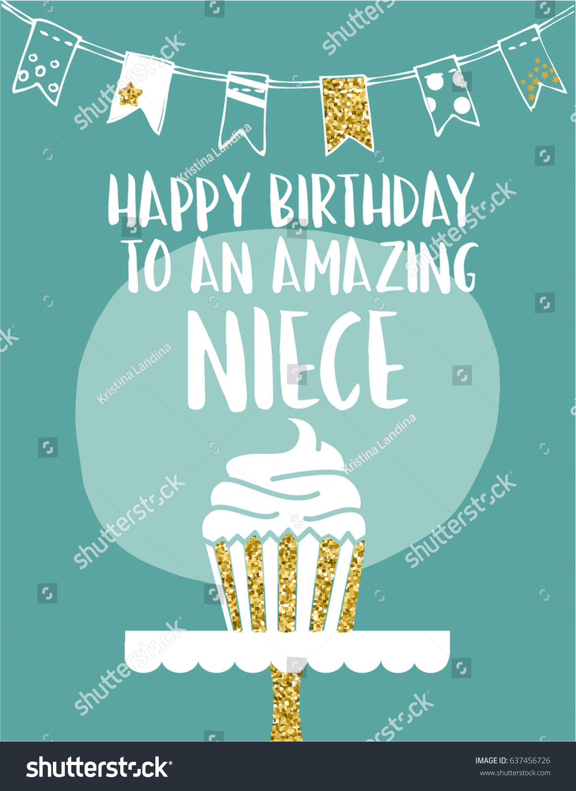 E Card Greeting Card Happy Birthday Amazing Stock Vector Royalty
