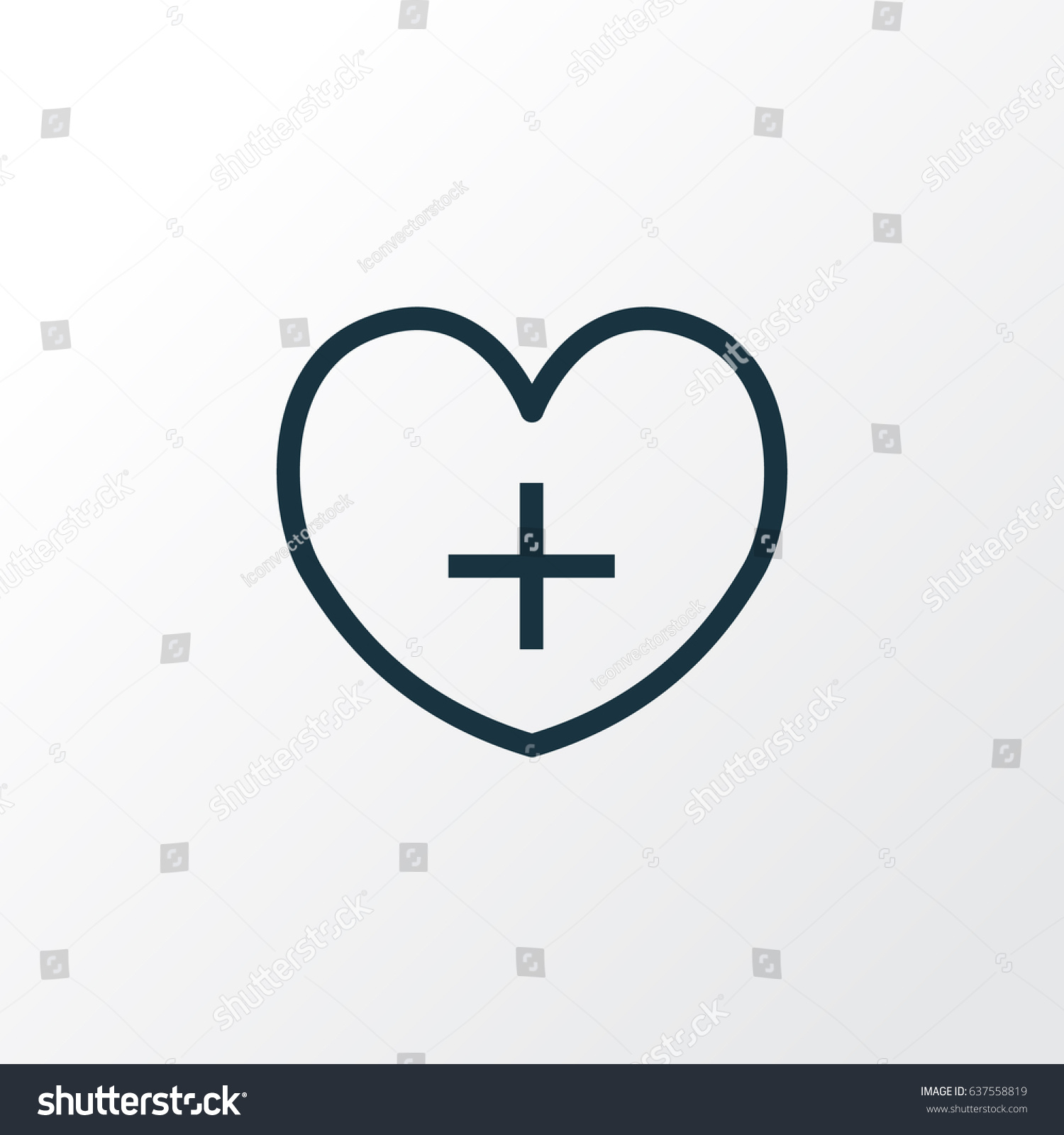 Heart outline symbol premium quality isolated stock vector heart outline symbol premium quality isolated life element in trendy style buycottarizona Image collections