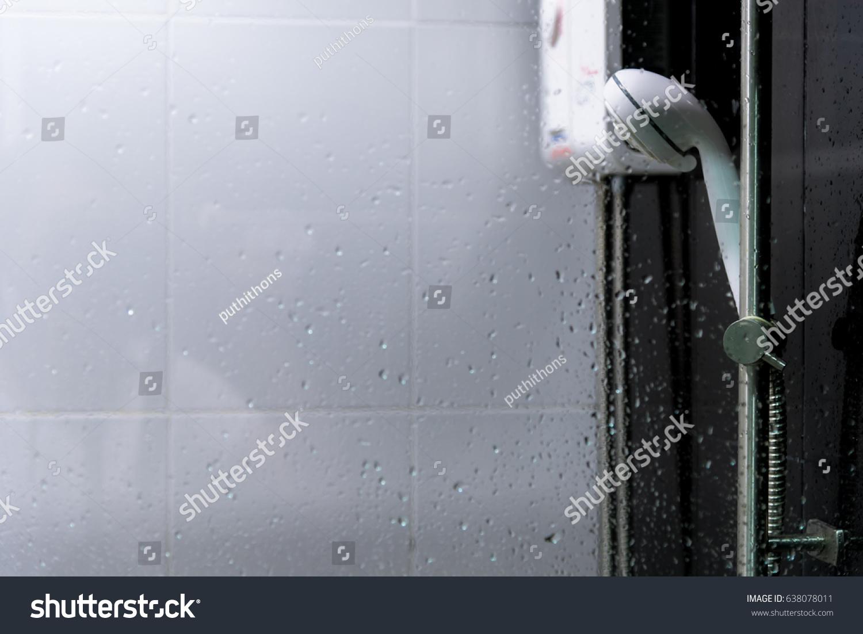 Water heater in bathroom - Shower And Water Heater In Bathroom