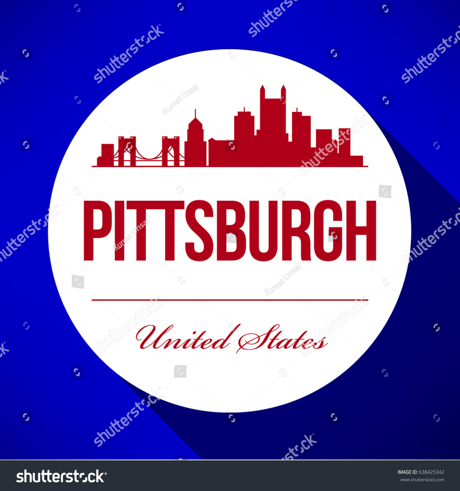 Vector Graphic Design Pittsburgh City Skyline Royalty Free Stock Image,Simple Blouse Designs Front And Back Images