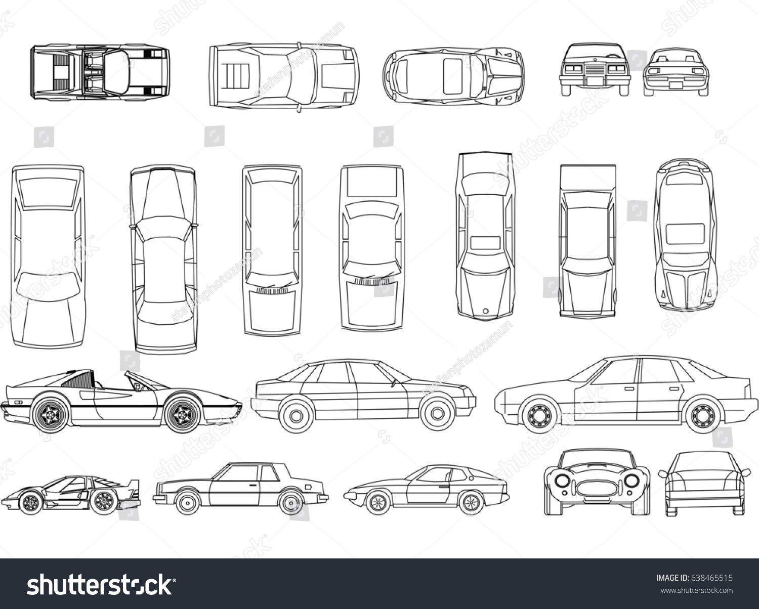 Cars Blueprint