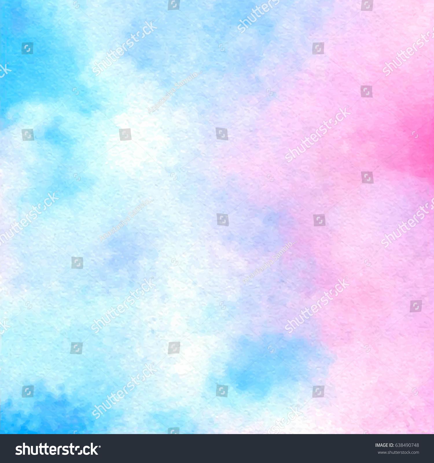 カード テキストデザイン 印刷用の青いピンクの白い水色の明るい