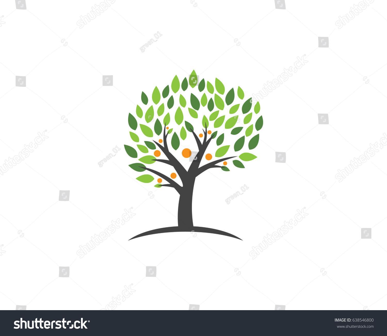 Family Tree Symbol Icon Logo Design Stock Vector 638546800