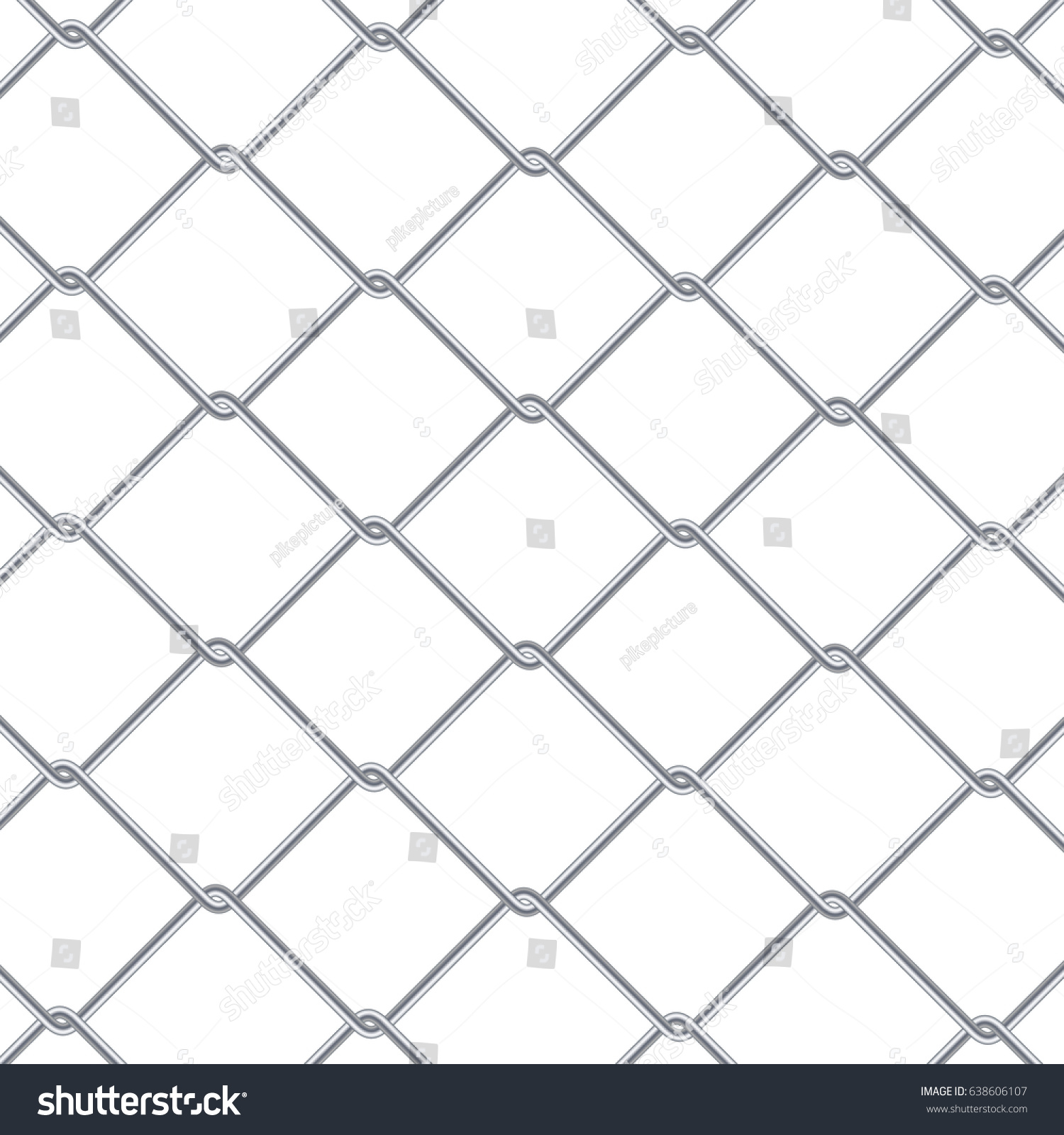 chain link fence background industrial style stock vector