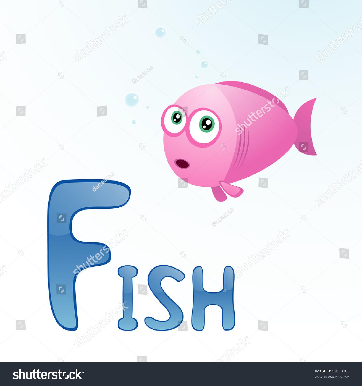 fish letter f