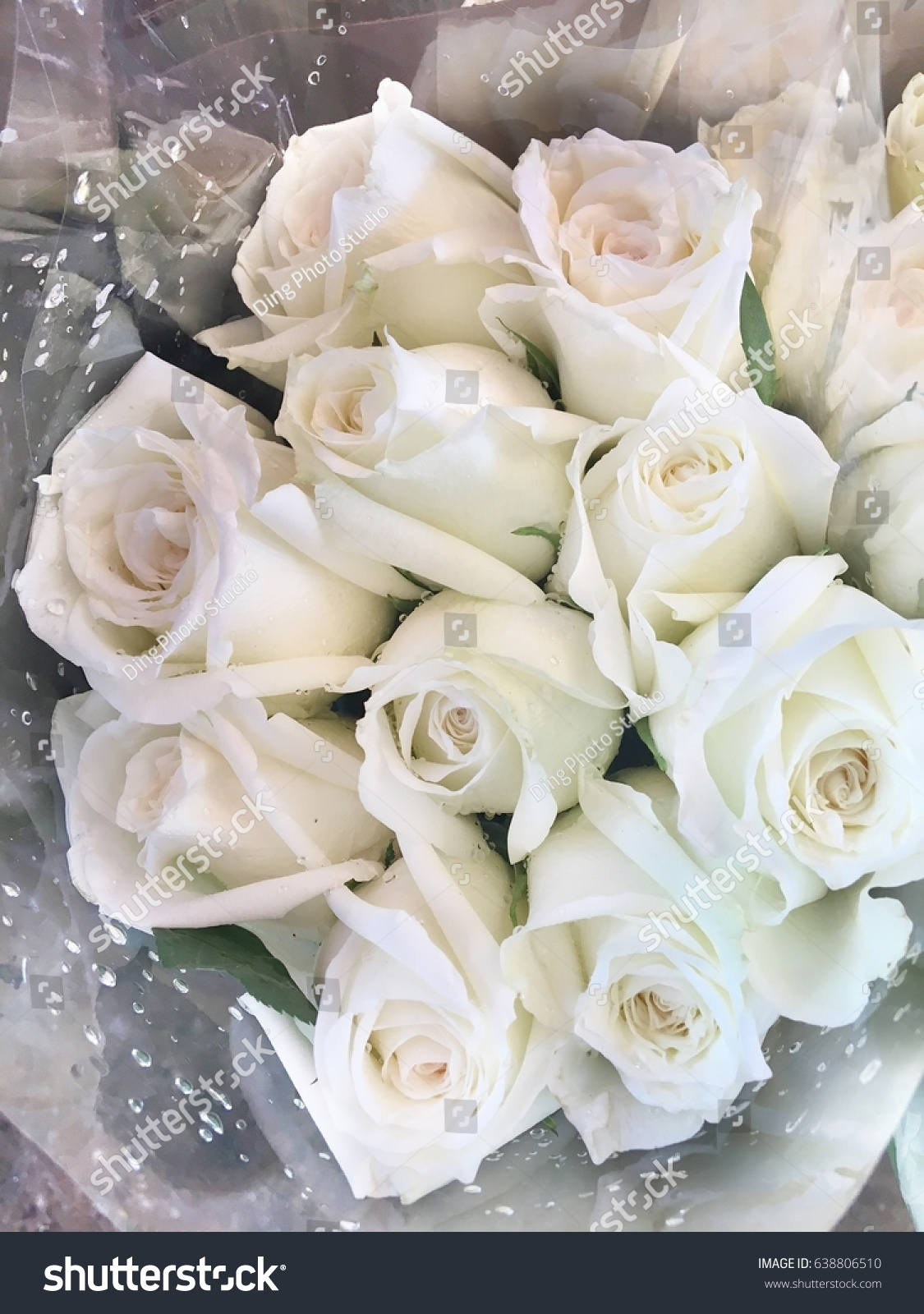 White Roses Bunch Background Bouquet Of Roses White Ez Canvas