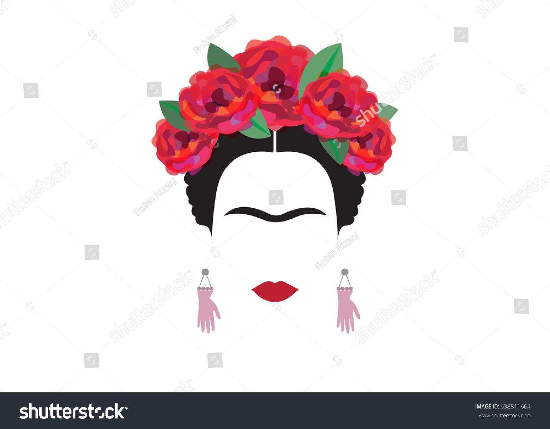 Frida Kahlo Dibujo Caricatura