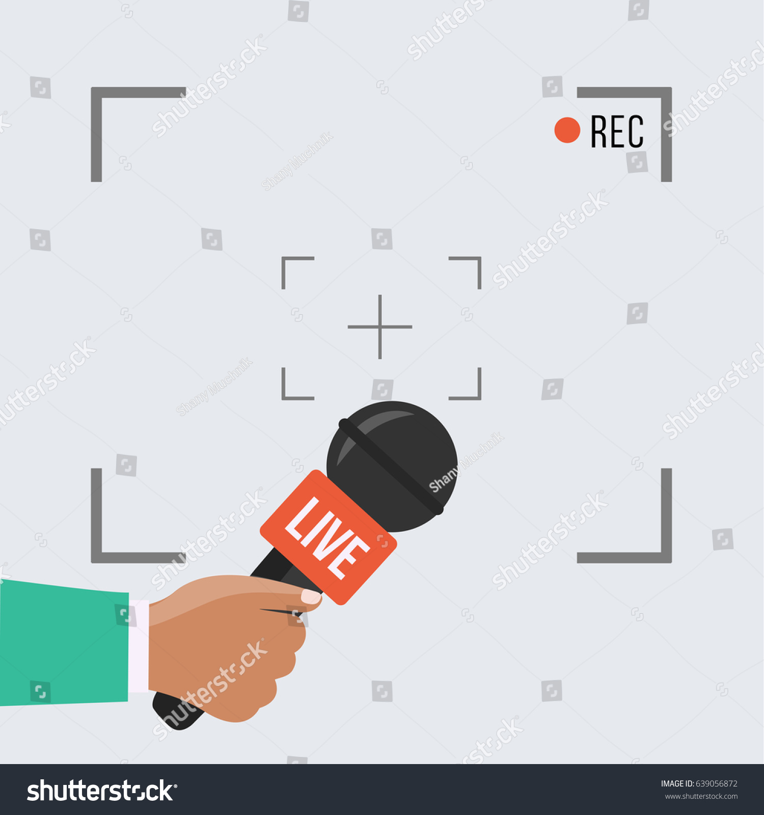 Background Camera Frame Record Rec Vector Stock Vector (Royalty Free ...
