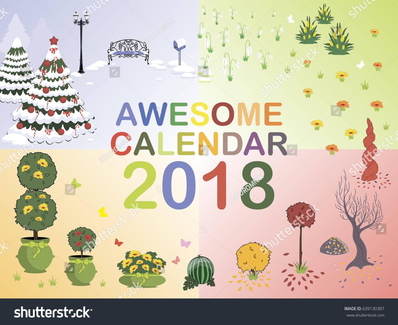 seasons calendar 2018