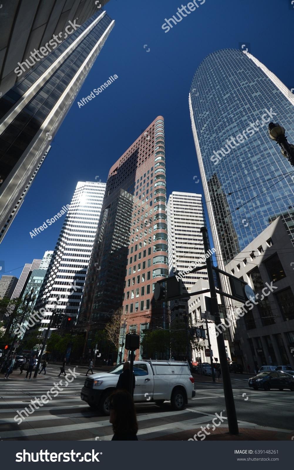 City Center Of San Francisco From May 1 2017 California Usa