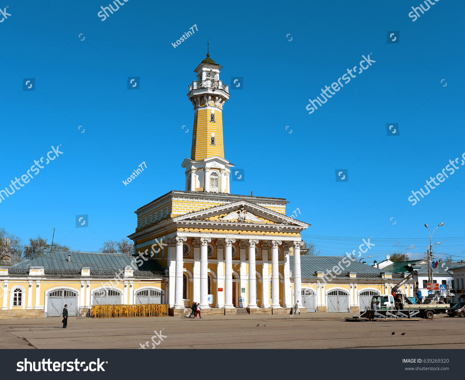 Fire tower (Kostroma): the ancient symbol of the modern city 66