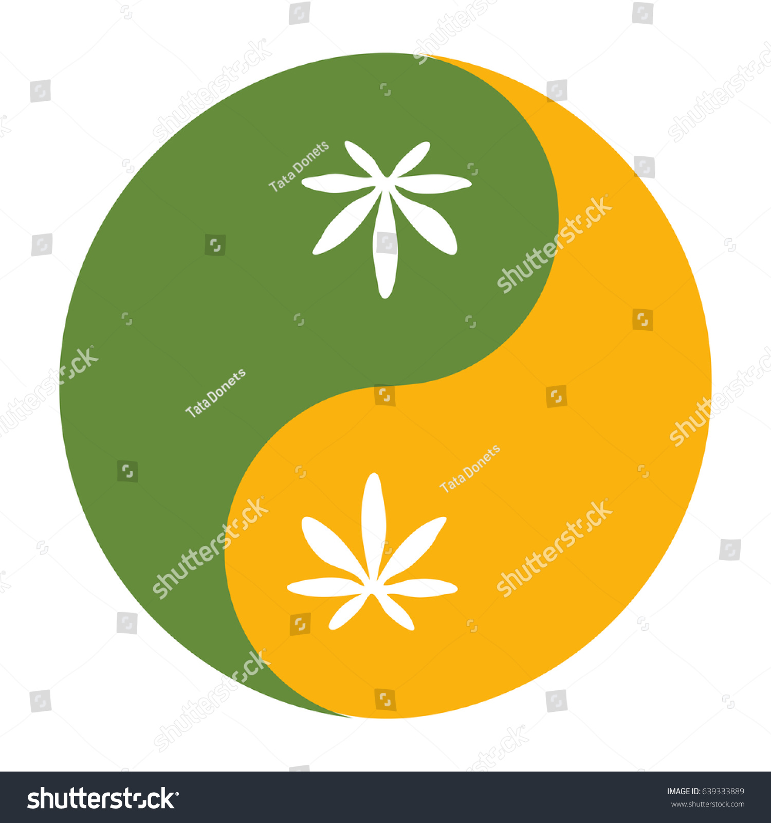 yin yang symbol known taijitu symbol stock vector hd royalty free rh shutterstock com Yin and Yang Wolf Goat Head Weeds