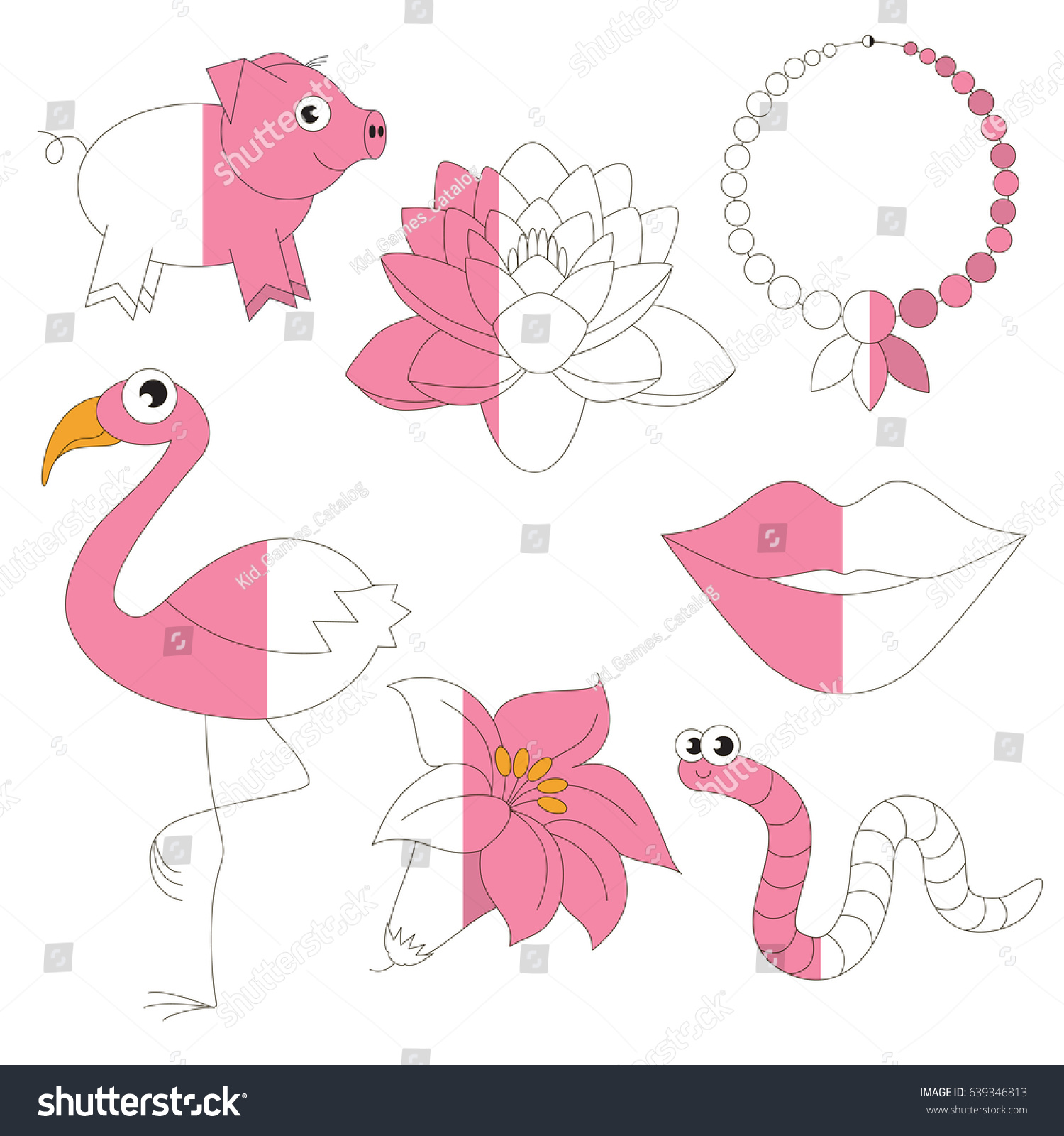Amazing Preschool Color Books Image - Pink Coloring Sheet ...