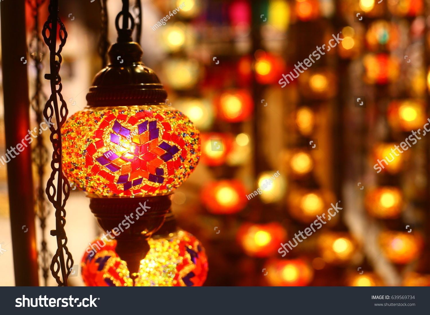 Traditional Arabic Hanging Lantern Dubai Street Stock Photo ... for Traditional Arabic Lamp  70ref