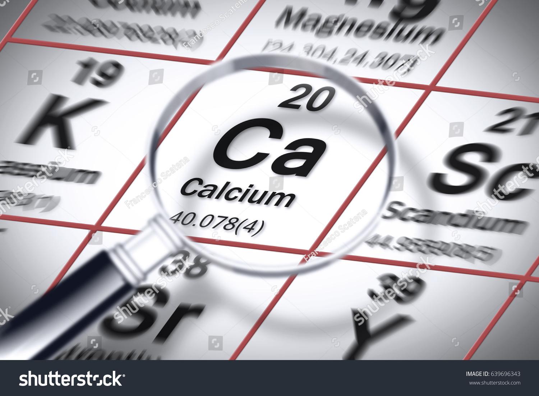 Calcium on periodic table choice image periodic table images focus on calcium chemical element concept stock illustration focus on calcium chemical element concept image with gamestrikefo Images