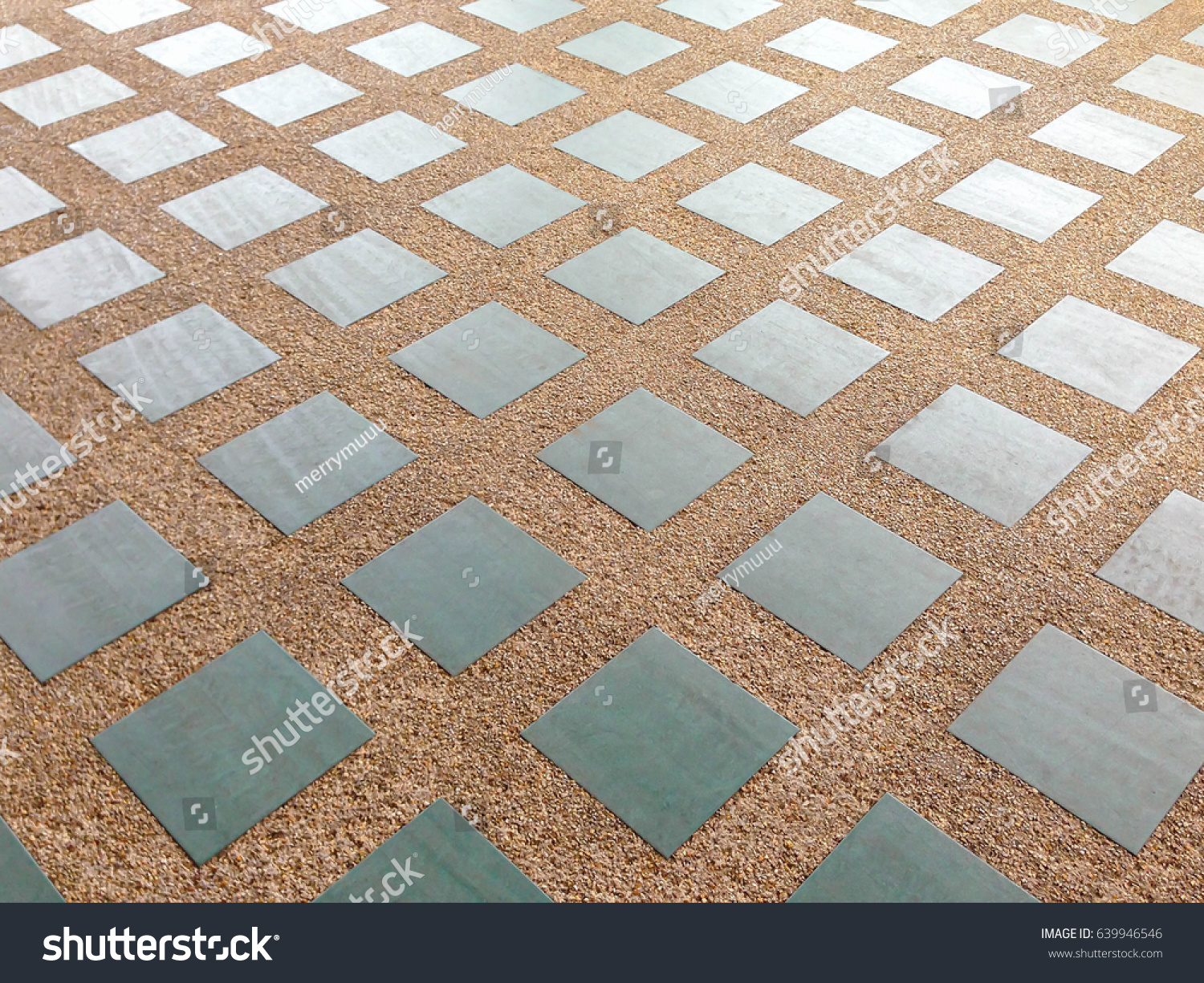 Floor tiles texture background green blue stock photo 639946546 floor tiles texture background in green blue geometric square shape with brown gravel small stone decoration dailygadgetfo Images