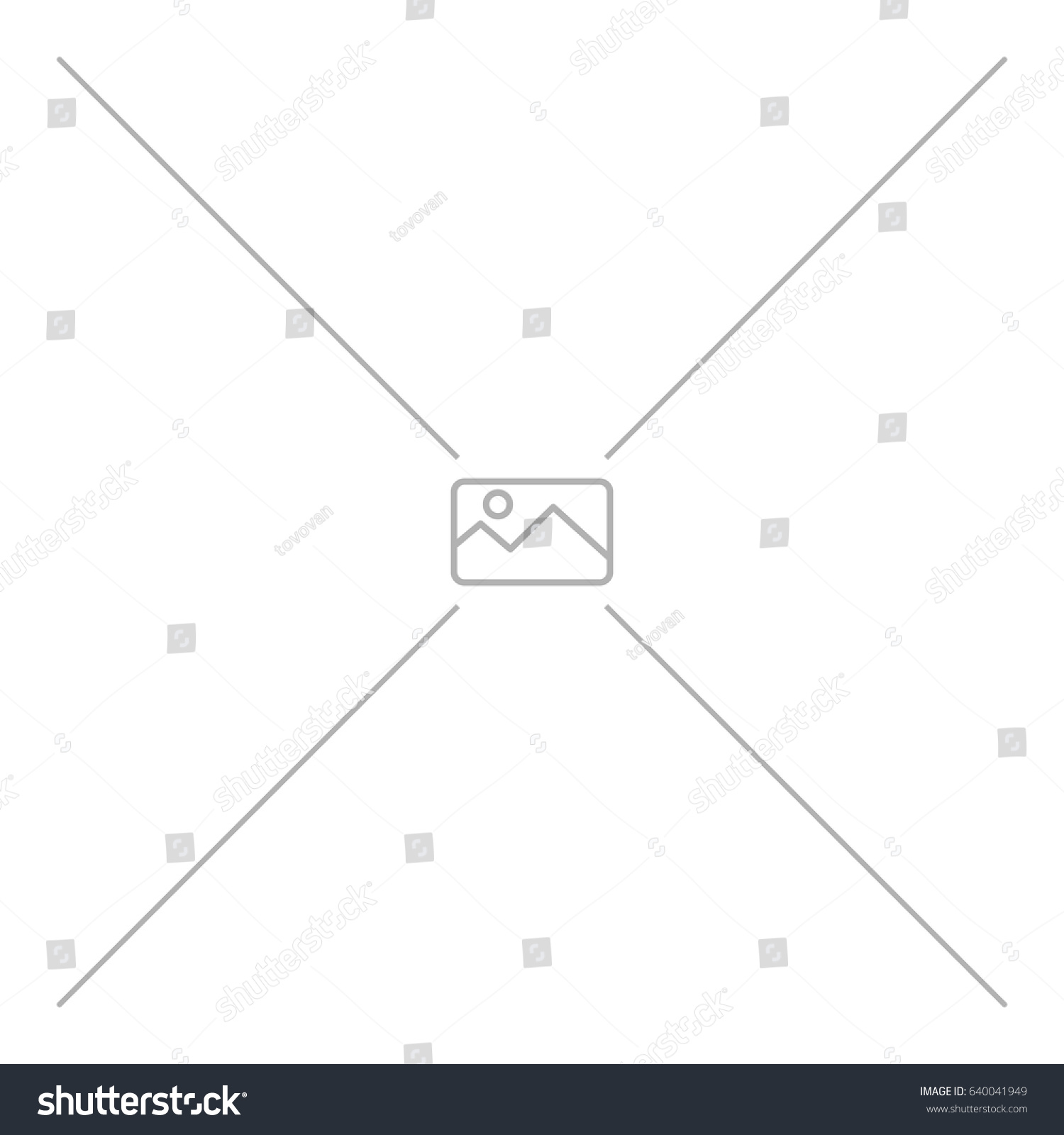 Missing Image Vector Illustration No Image Stock Vector (Royalty