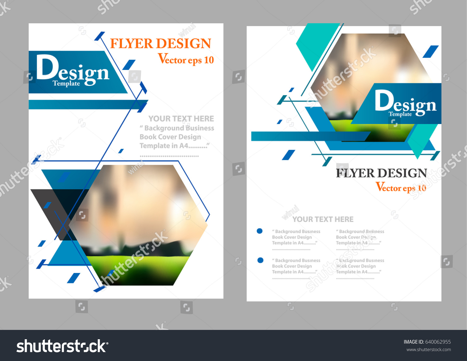 Layout Design Template Cover Book Geographic Stock Vector (2018 ...