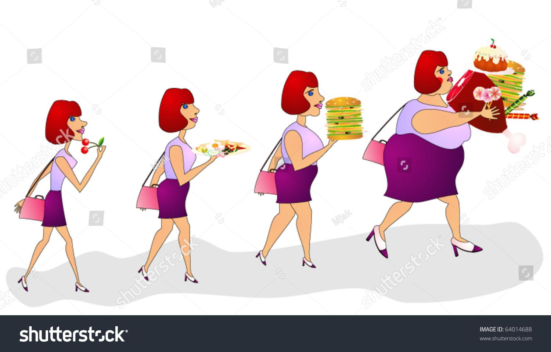Почему человек не ест и толстеет