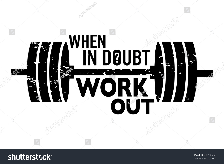 Inspirational Motivational Print Design Workout Training Stock ... for Physical Fitness Design  35fsj