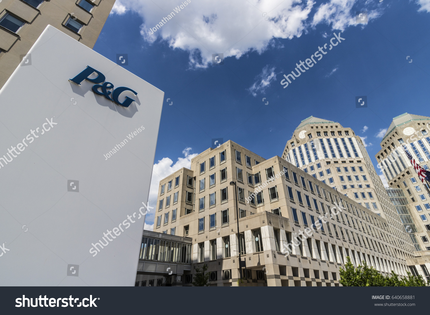 Cincinnati circa may 2017 wide angle stock photo 640658881 cincinnati circa may 2017 wide angle procter gamble corporate headquarters pg is biocorpaavc