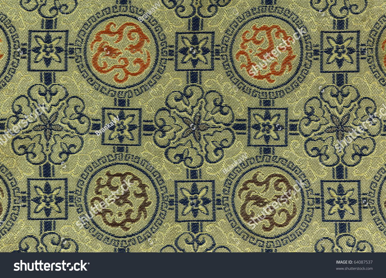 Chinese pattern fabric