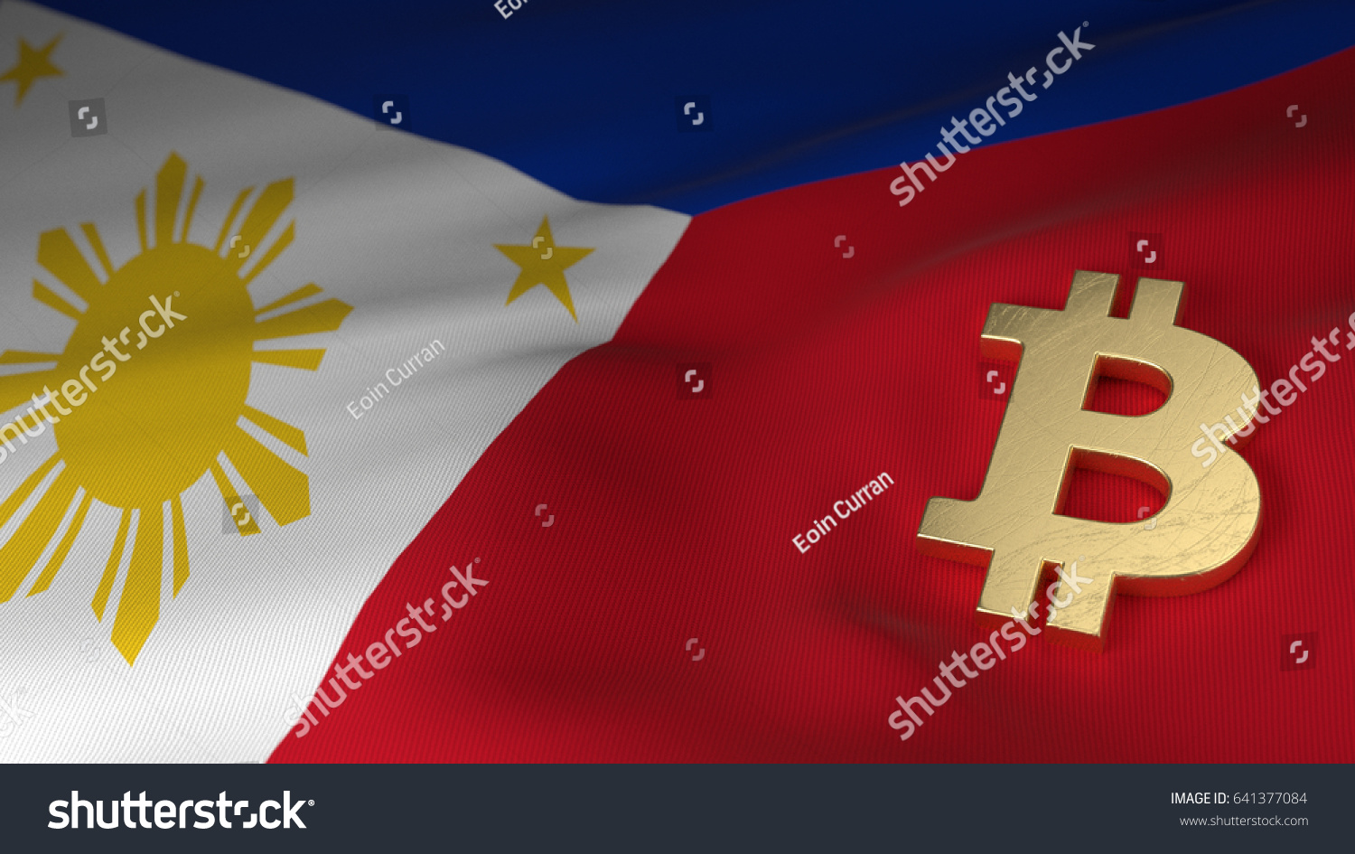 Bitcoin currency symbol on flag philippines stock photo 641377084 bitcoin currency symbol on flag of the philippines biocorpaavc Choice Image