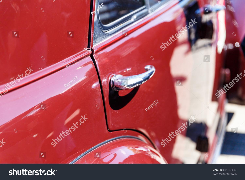 vintage car door handles. Beautiful Old Classic Or Retro Car Door Handle Vintage Handles