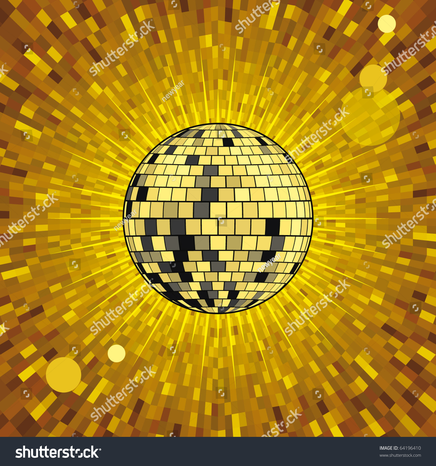 gold party vector - photo #23