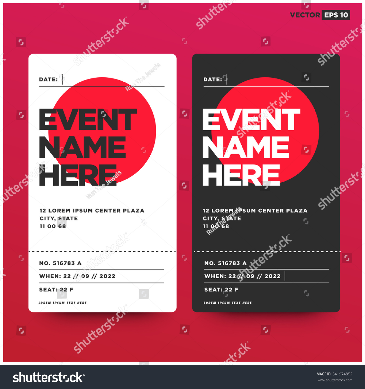 Sporting Event Ticket Template. best 25 sporting event tickets ideas ...