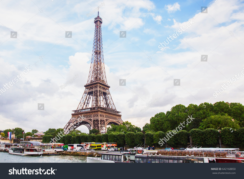 paris france may 10 2014 eiffel stock photo royalty free 642168850