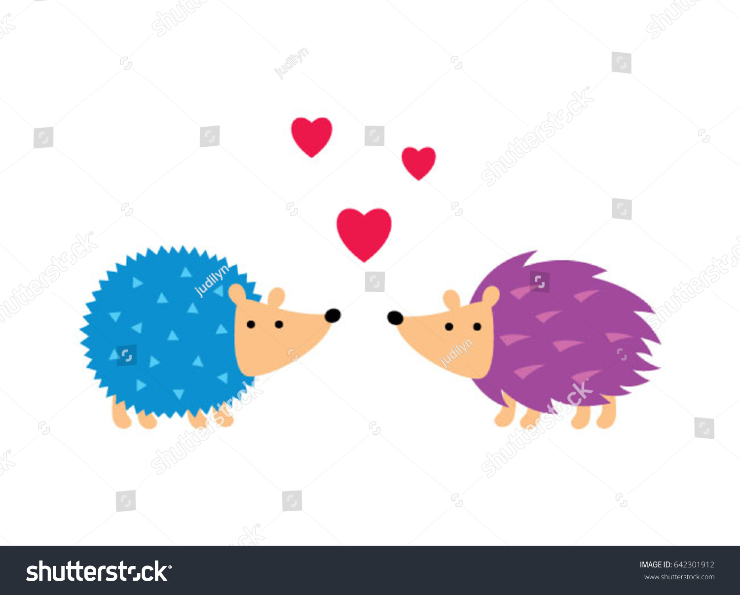 cute hedgehog love vector cute porcupine stock vector 642301912 rh shutterstock com hedgehog clipart cute hedgehog clip art pinterest