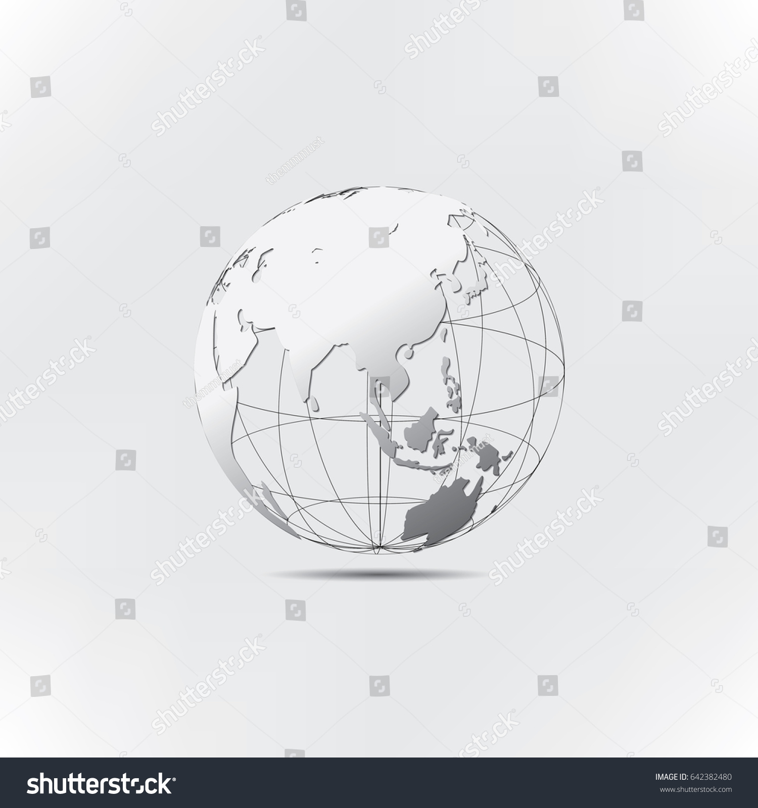 Wireframe Globe Asia Wire Center Pwm Circuit Design Http Prakashatisbmblogspotcom 2011 02 12volt Zone Map Vector Stock Hd Royalty Free Rh Shutterstock Com Background