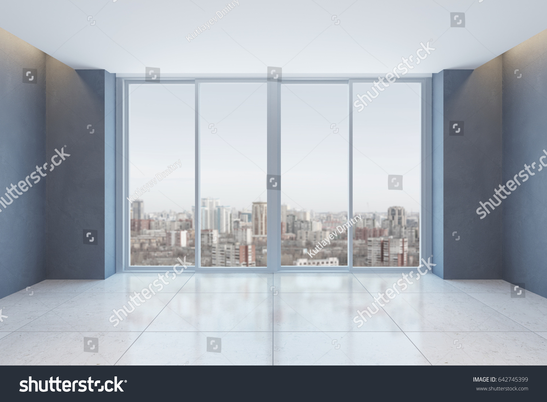 Empty Office Room With Window Cloudiasouvenir Com - Empty office room with window 3d rendering