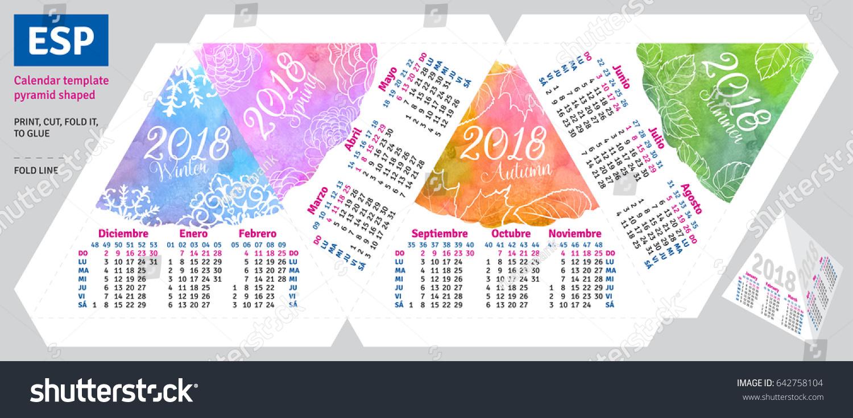 seasonal calendar template