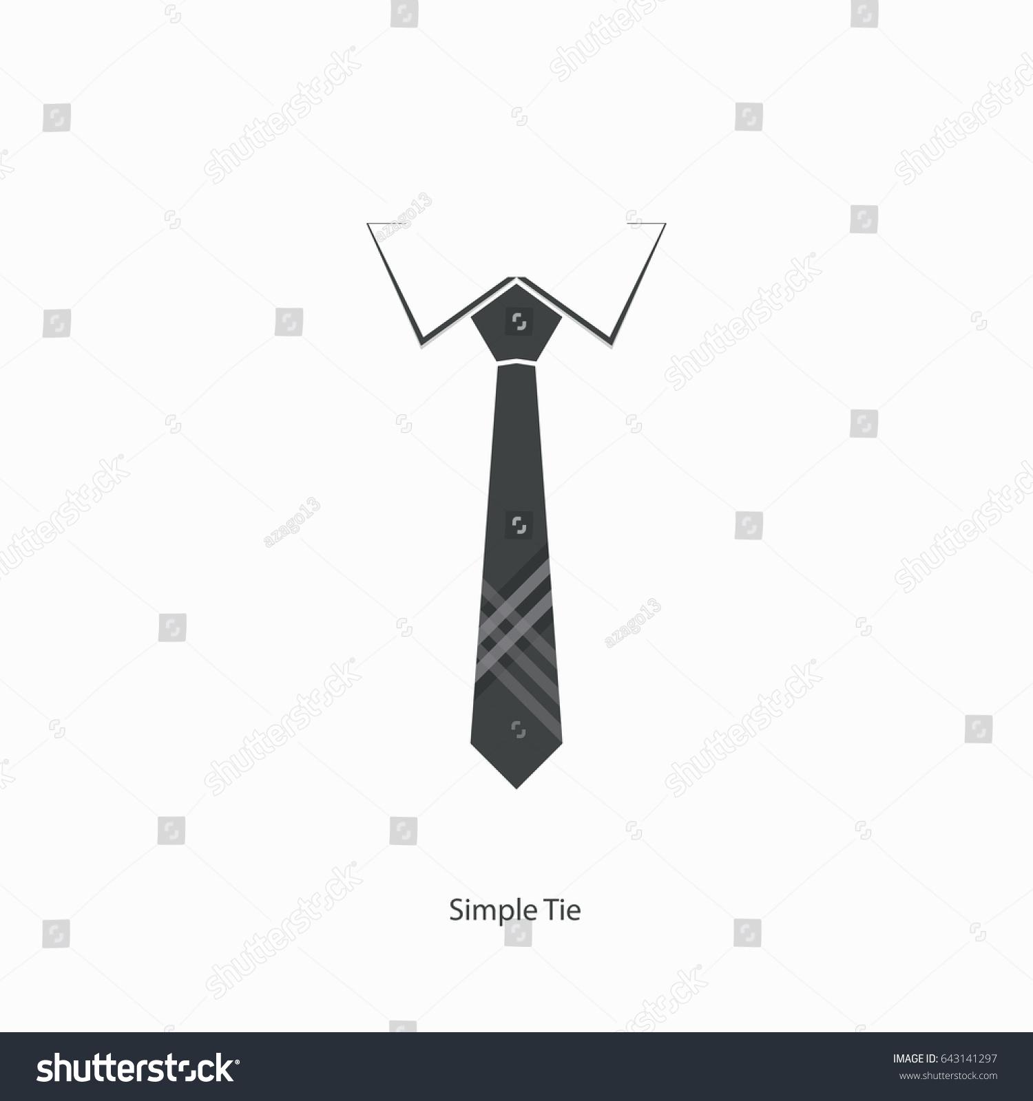 Tie icon necktie neck cloth symbol stock photo photo vector the tie icon necktie and neck cloth symbol business logo simple tie ccuart Gallery