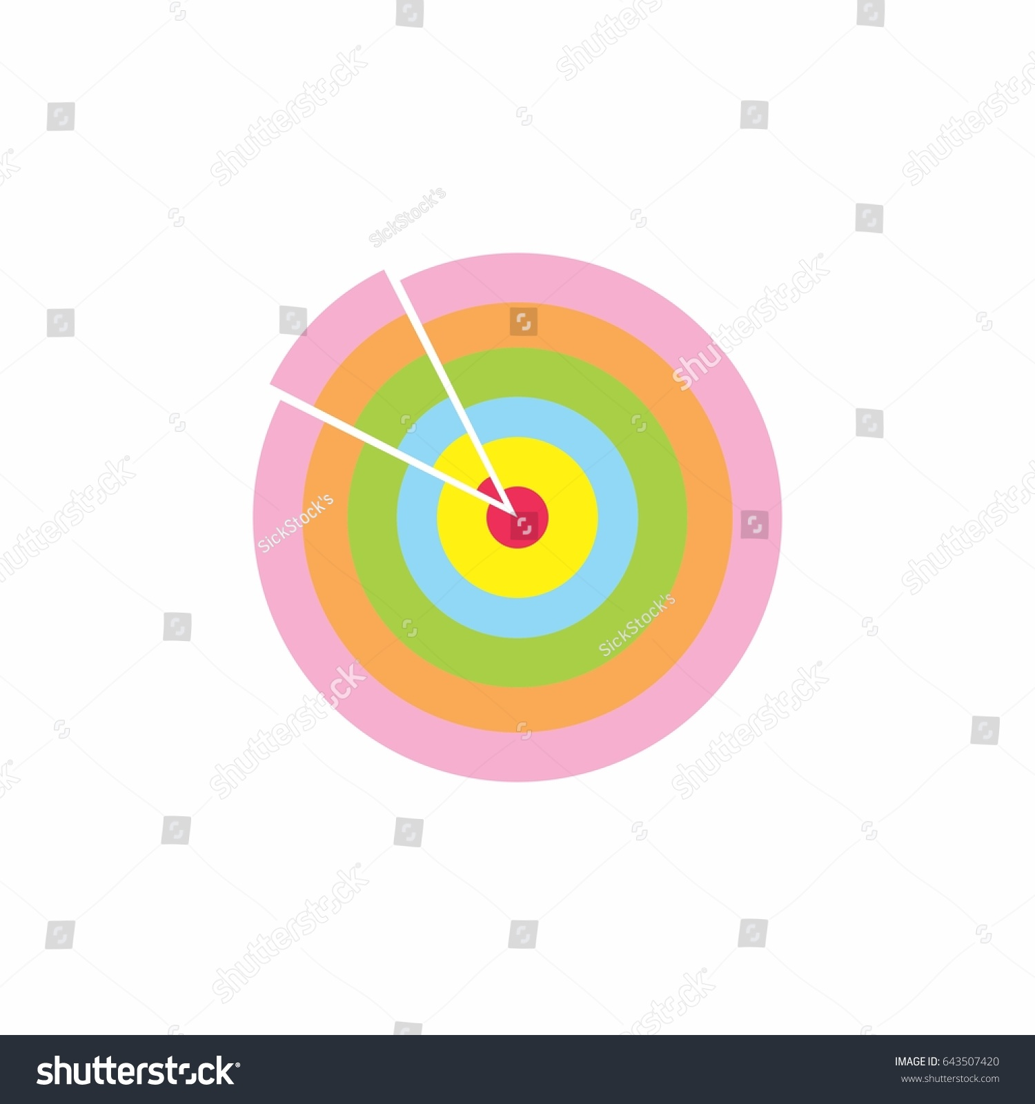 Vector circles object form target symbol stock vector 643507420 vector of circles object form target symbol design buycottarizona Image collections