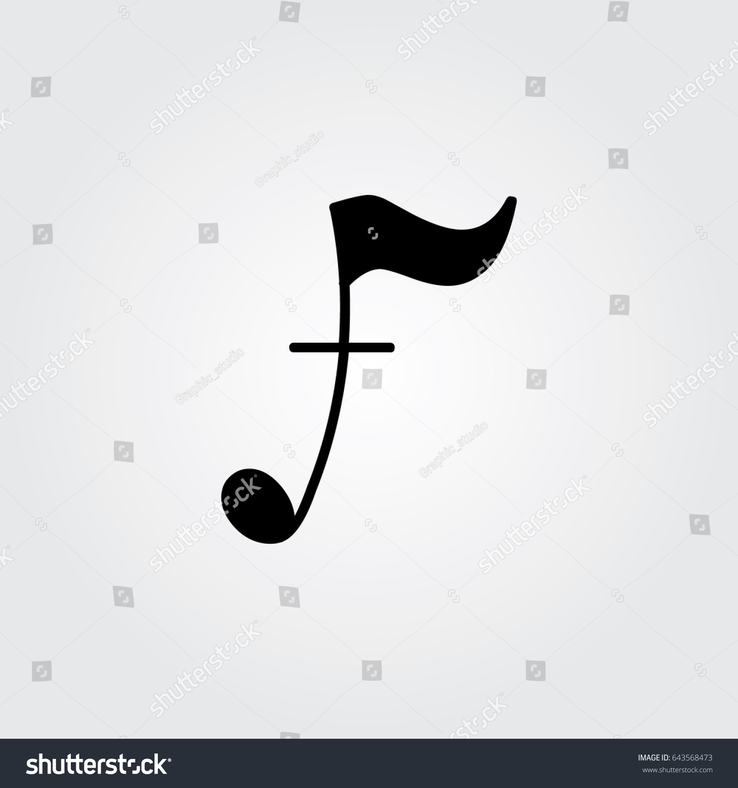 Creative logo design unique symbol music stock vector 643568473 creative logo design and unique symbol with music note f buycottarizona