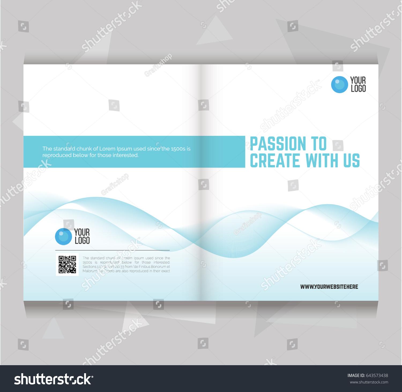 Letter Size Brochure Template | Bi Fold Brochure Flyer Template Letter Size Vector De Stock Libre
