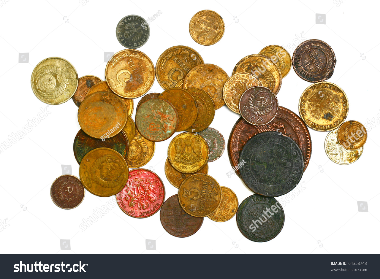 old coins stock image - photo #14