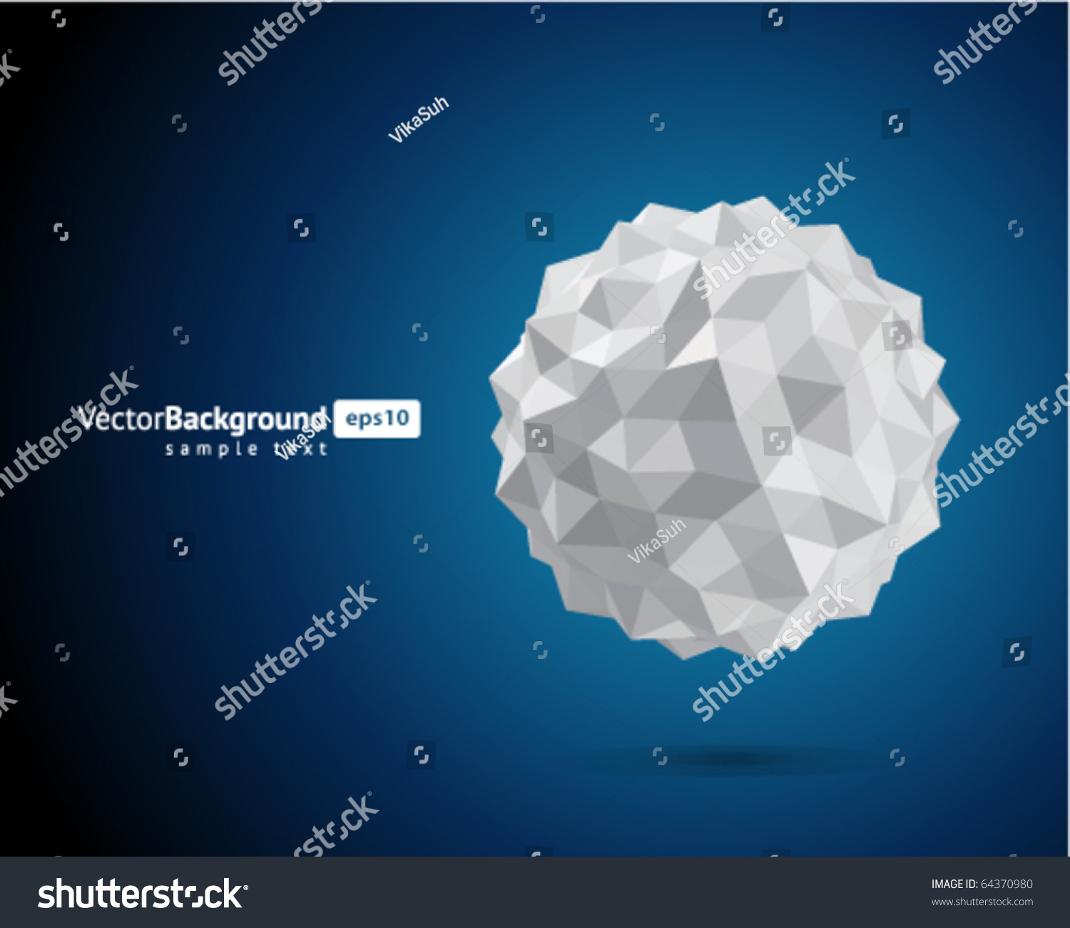 Abstract 3d Origami Paper Sphere Vector Stock Vector ... - photo#34