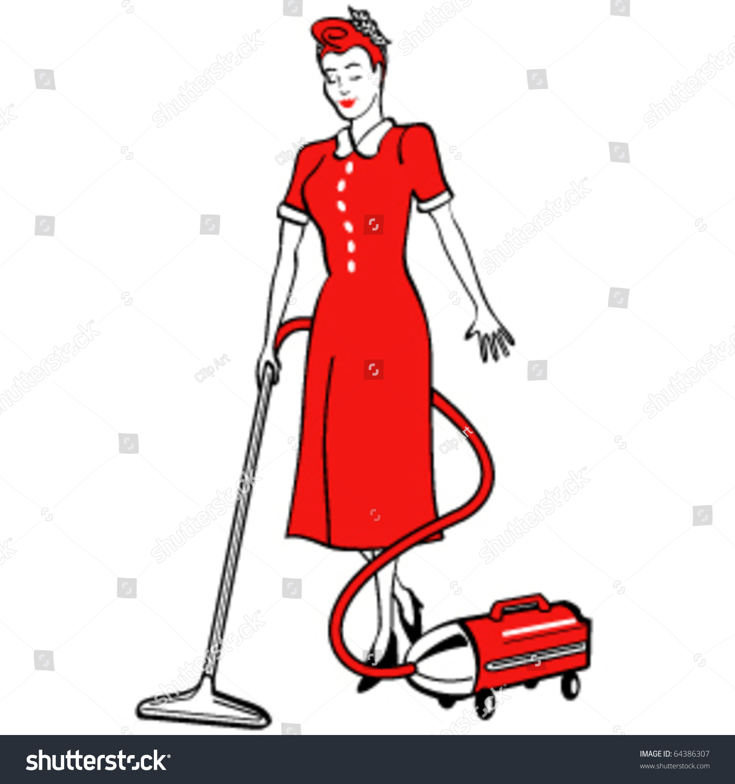 Related Keywords Amp Suggestions For Retro Housekeeper