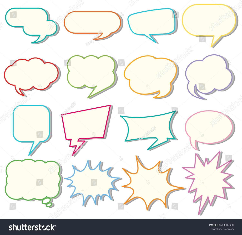 bubble templates