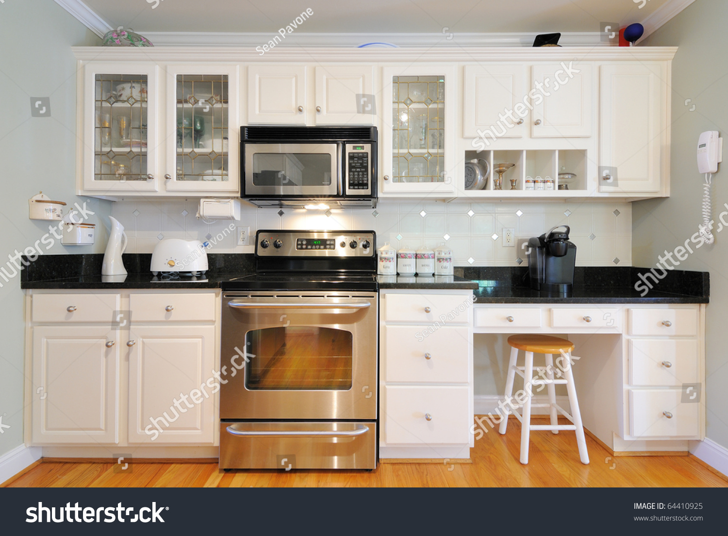Modern Cabinets For Living Room Kitchen Cabinets N Modern Home Living Stock Photo 64410925